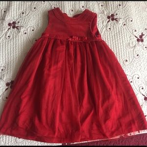 Beautiful Red Holiday Dress 4T